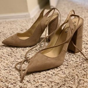 Guess suede shoes